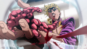 GW ep24 giorno cuts his own hand