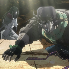 Joseph and Lisa Lisa take a moment to mourn Caesar