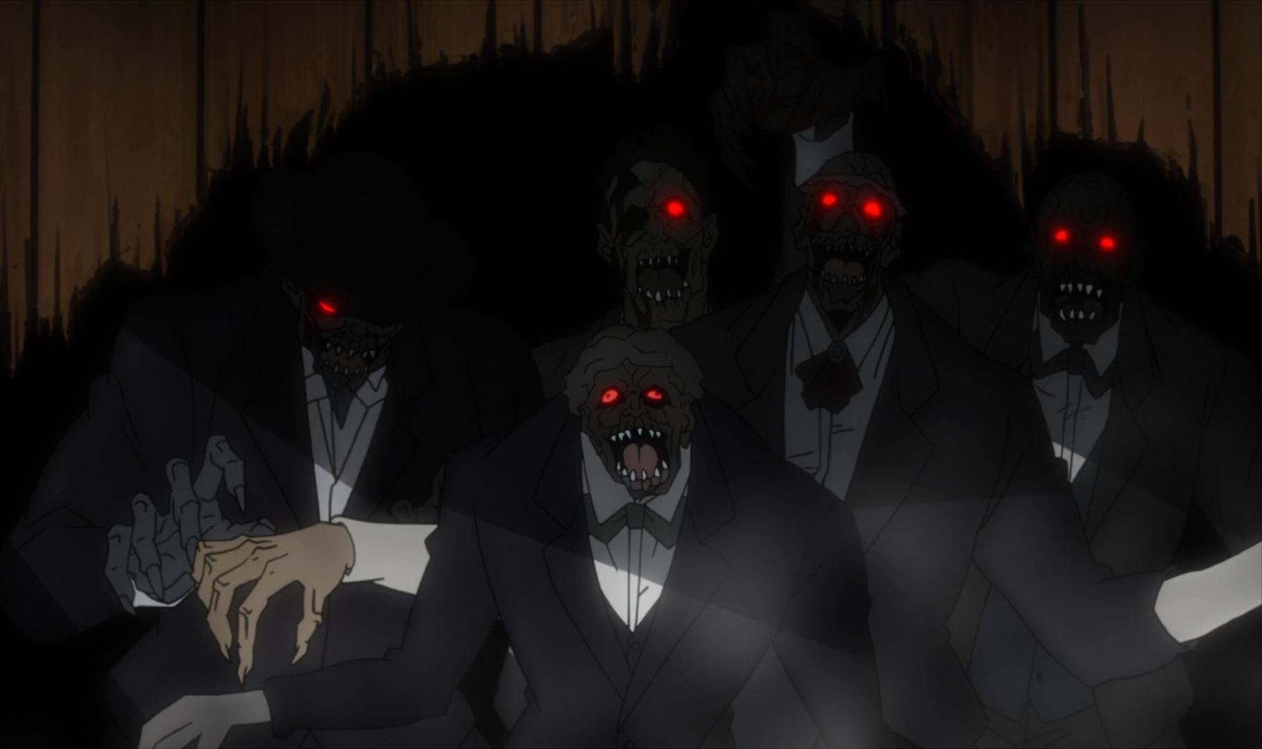 Ship Zombies Anime