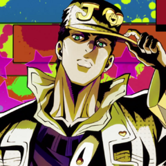 Jotaro featured in the first opening, <i><a href=