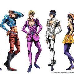 Bucciarati's Gang