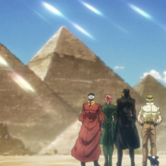 Polnareffs memory of Egypt