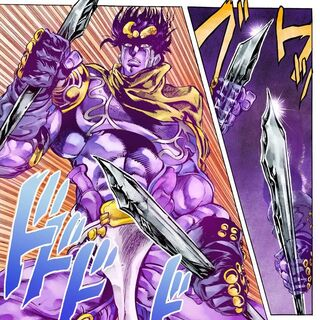 Star Platinum takes two bars