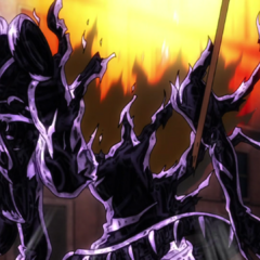 Chariot Requiem is heavily damaged by Diavolo