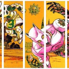 Jump Comics Том 35 - Том 47 (Задняя иллюстрация)