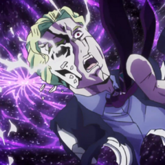 Kira's spirit being damned to the hellish fate that awaits him