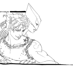 DIO sketch from Araki - BluRay BOX