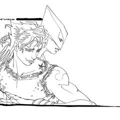 DIO sketch from Araki - BluRay BOX