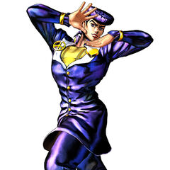 Josuke's render in <i><a class=
