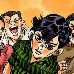 Narancia and his friends