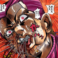 Metallica replacing the iron in Doppio's blood with metal pins