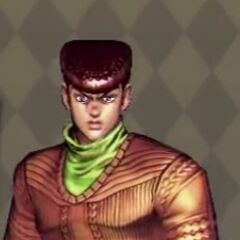 Josuke Costume A in <i>All Star Battle</i>