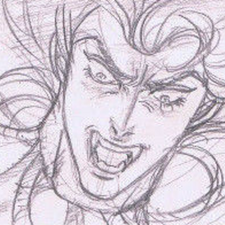 Dio's Severed Head Attacking Jonathan (Part 3 OVA)