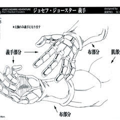 Anime reference sheet: hand