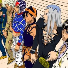 Bucciarati's gang, <i>Vento Aureo</i>