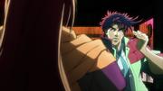 JoJo vs Straizo anime