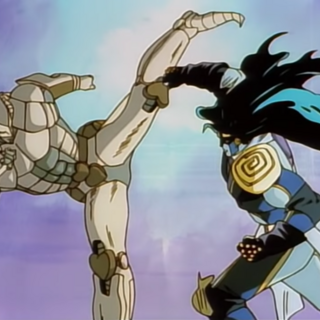 The World and Star Platinum's final clash