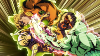 Babyface cutting giornos arm