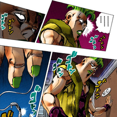 Pesci readying his Stand