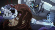 Chariot breaks Vanilla's neck