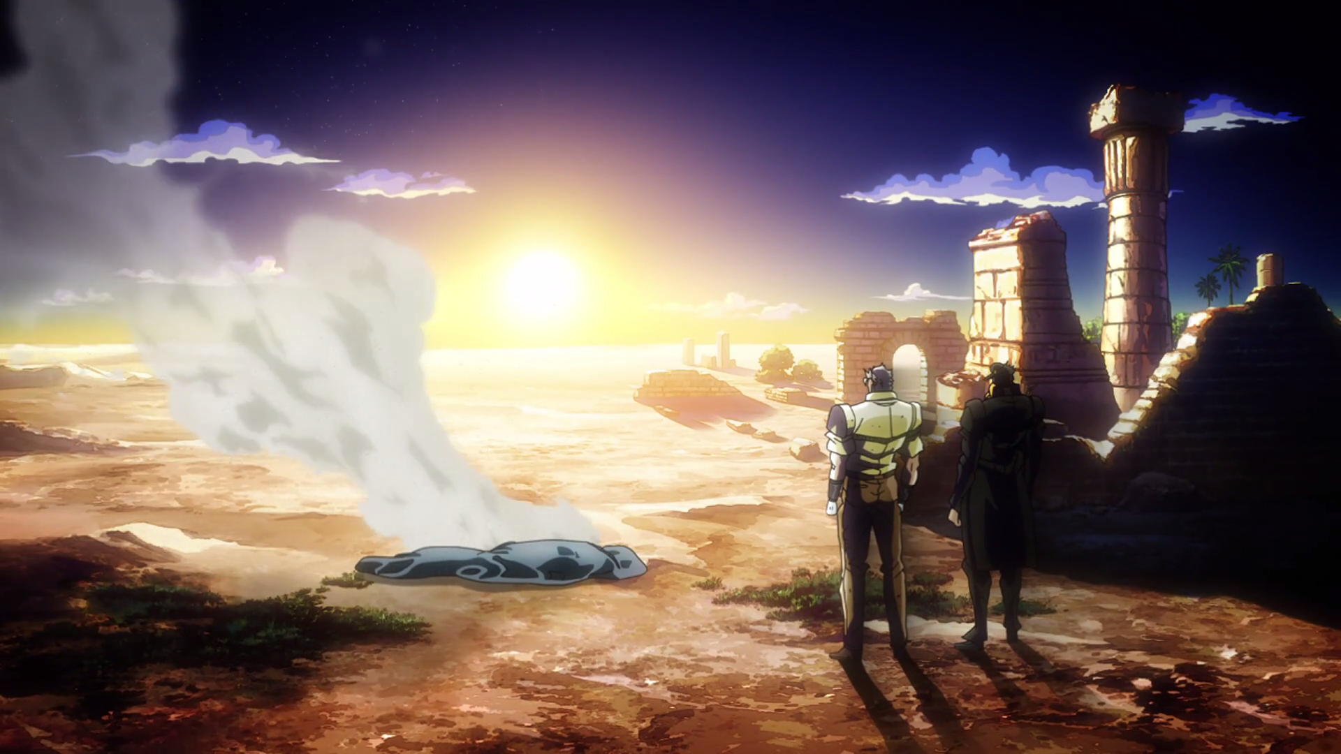 DIO's ashes Anime