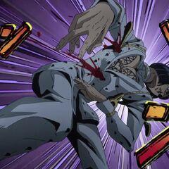 Getting shot by <a href=
