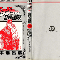 The cover of Volume 24 without the dust jacket