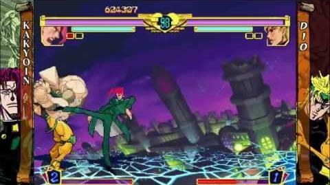 JoJo's Bizarre Adventure HD Ver. (Xbox Live Arcade) Story as Kakyoin