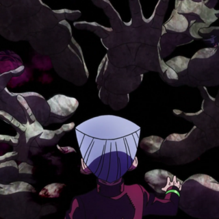 The Ghostly Hands as seen in the anime