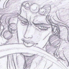 Kars Sinisterly Licking His Blade