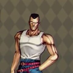 Okuyasu Costume A in <i>All Star Battle</i>