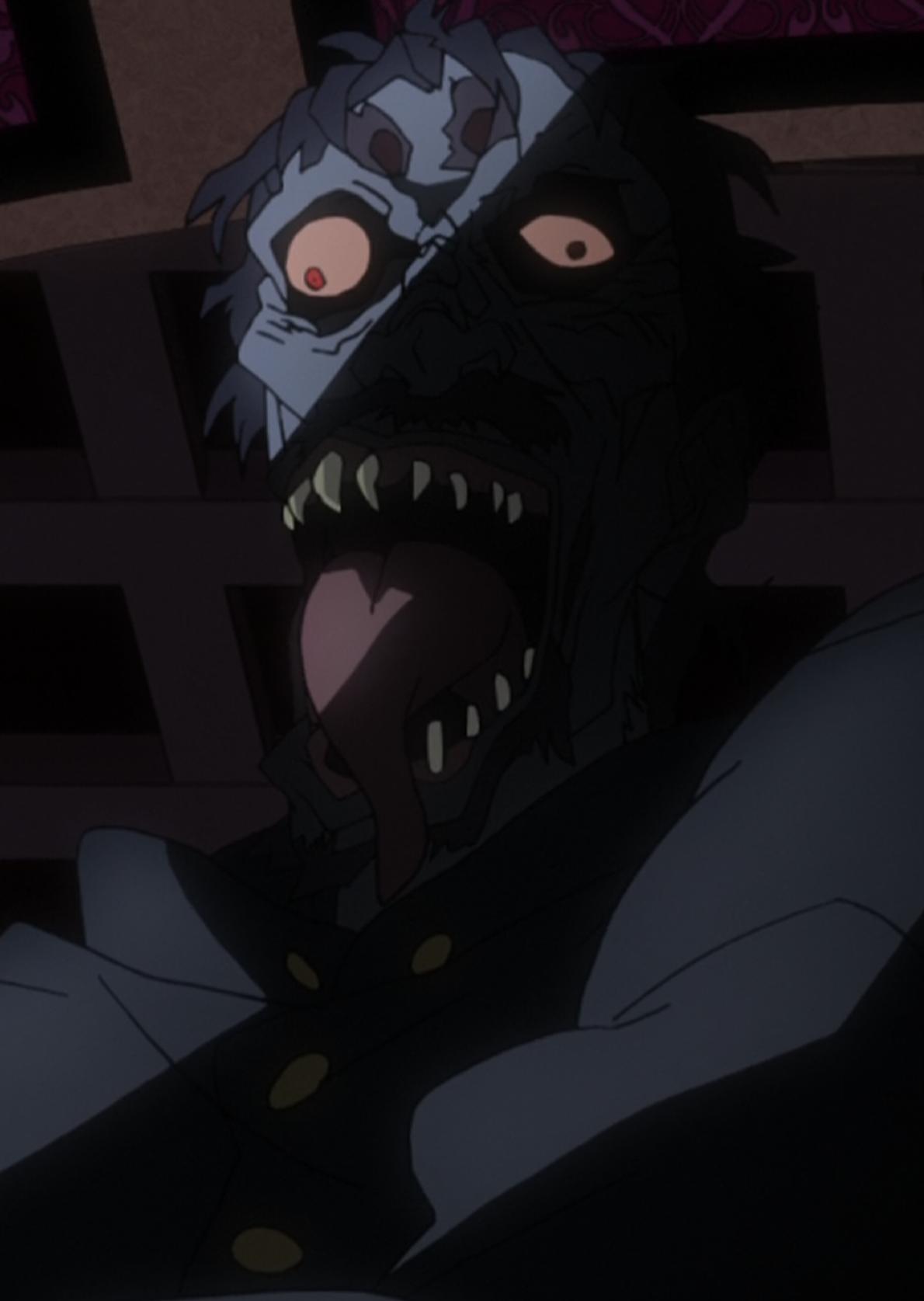 Police Zombie Anime