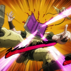Both Tohth and Hol Horse are shot by Emperor's bullets