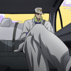 Jotaro travels to <a class=