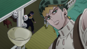 Rohan watches the dice carefully