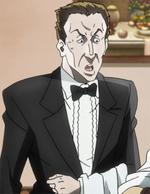 Rome Hotel Waiter Anime