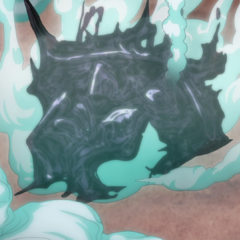 The last remains of Chariot Requiem dissolve into nothing