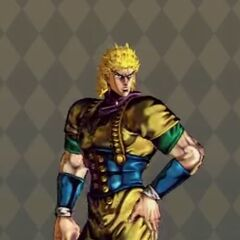 Dio Brando Costume A in <i>All-Star Battle</i>