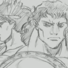 A Young Bruford With Tarkus As They Appears In The Part 3 OVA Timeline Videos