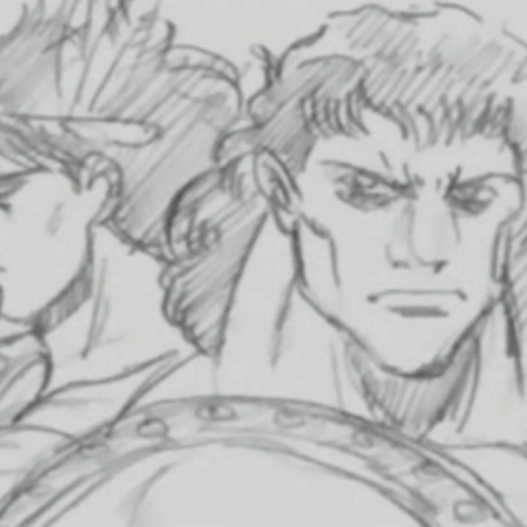 A Young Tarkus With Bruford As They Appears In The OVA Timeline Videos