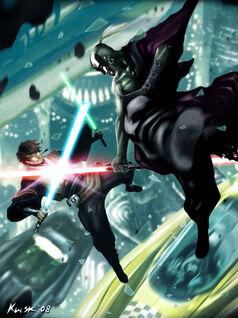 Jedi Vs Sith Coruscant by kw3k