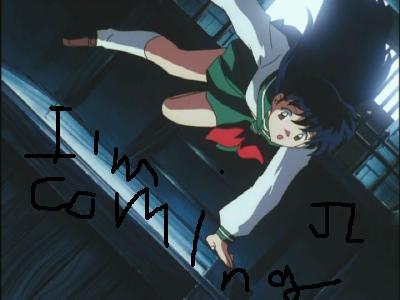 I'm coming JL
