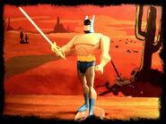 Batman Duel in the Desert 01