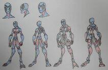 Peter Parker (Spider-Man), Arachnrophic form and Hero Attire