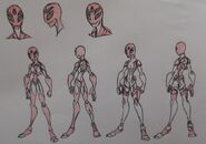 Mary Jane Watson (Scarlette) , W-Spider and Hero Attire