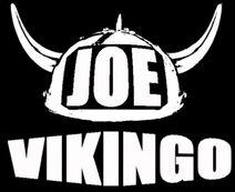 Logo Joe Vikingo negro