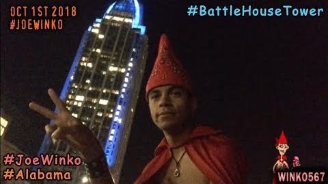The Battle House Tower at Night - Mobile, Alabama - Joe Winko