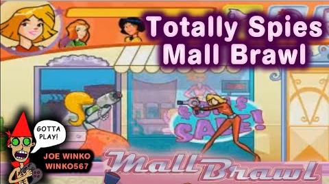 Mall Brawl Playthrough - Tottally Spies - Joe Winko