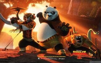 Kung fu panda 2-wide