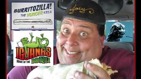 Iguanas Burritozilla vs. Joey..